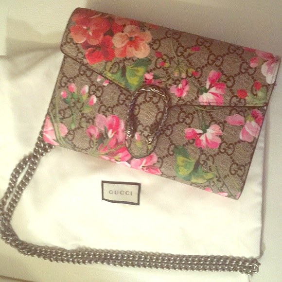 Gucci Handbags - Gucci Dionysus Bloom Mini Bag and Silver Tote